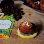 Uganda sipi falls paired with salted caramel mandazi