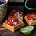 Malawi Sable Farms with nsima inspired waffles