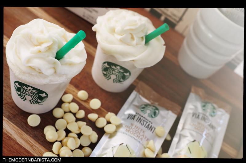 white mocha via latte cupcakes