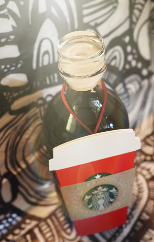 HOMEMADE KAHLÚA USING STARBUCKS VIA