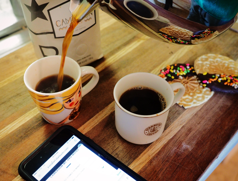 Cameroon Mt Oku coffee tasting