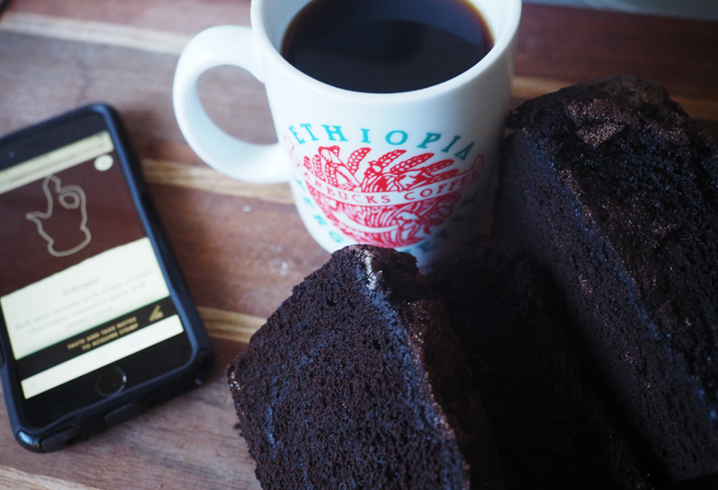 Ethiopia and chocolate cinnamon bread