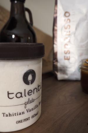 Tahitian Vanilla Bean Gelato
