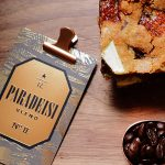 Paradeisi Blend no. II with a toffee almond bar