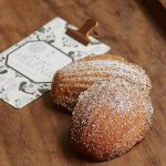 Saint Helena with vanilla bean & citrus madeleines