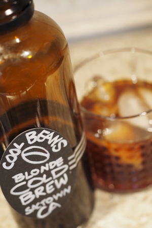 cool beans, cold brew