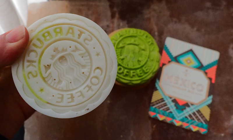 Starbucks mooncake mold