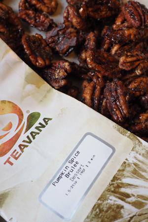 Teavana Pumpkin Spice Brûlée Candied Pecans