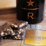 Pantheon blend III with chocolate hazelnut coffee toffee