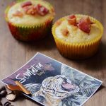 Sumatra with maple bacon cornbread muffins