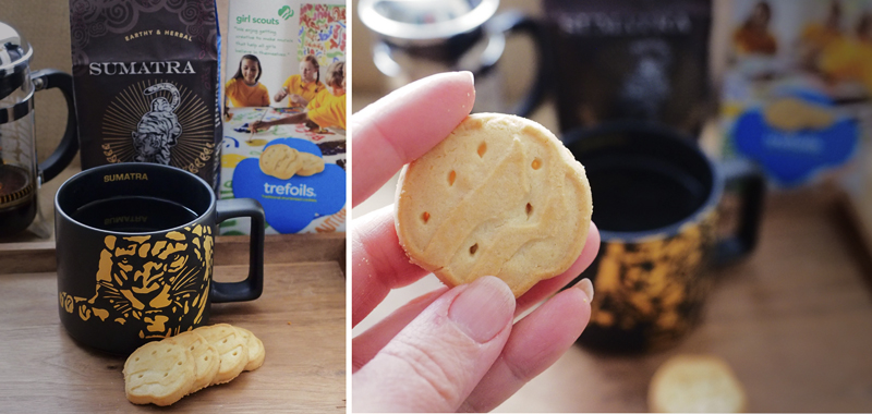 Girl Scout Cookies & Starbucks: Shortbread + Sumatra