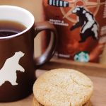 Coffee browned butter cookies with Yukon Blend