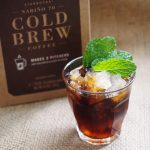 Starbucks Nariño 70 Cold Brew mint julep mocktail
