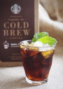 Starbucks Nariño 70 Cold Brew  mint julep