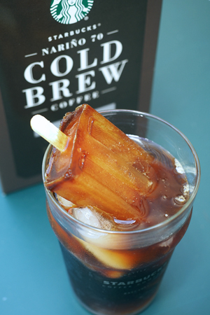 Nariño 70 Cold Brew popsicles